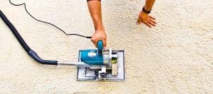 Teppich scheren - Schergerät